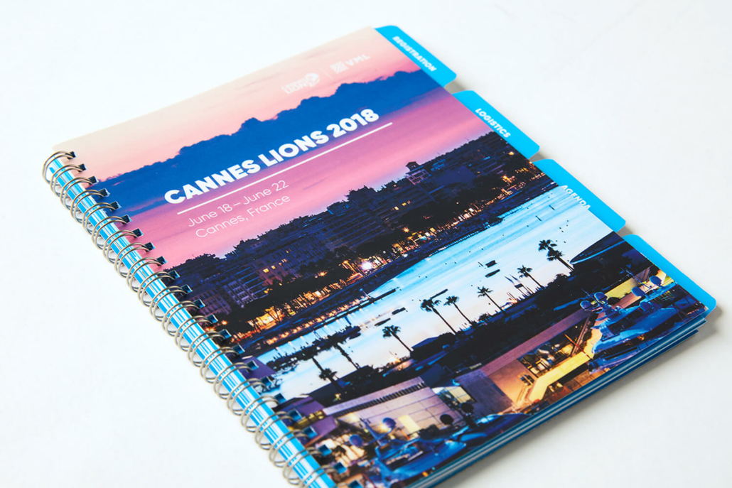 Commercial Printer Spiral Bound Booklet