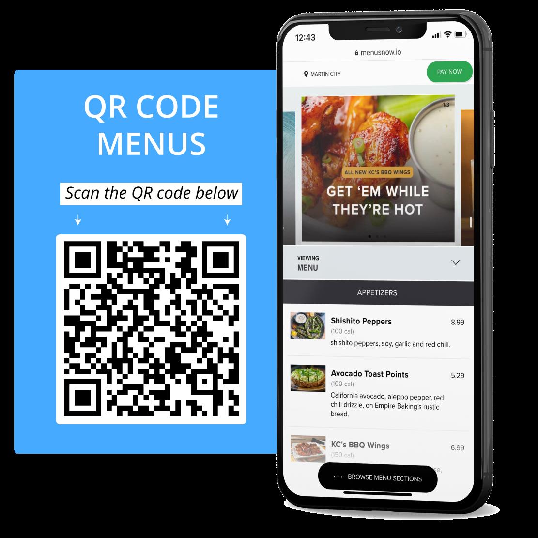 QR Code Menu Solution